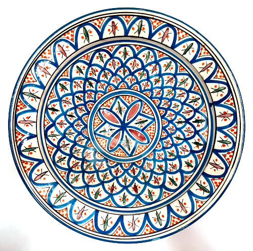 Moroccan decorative plate